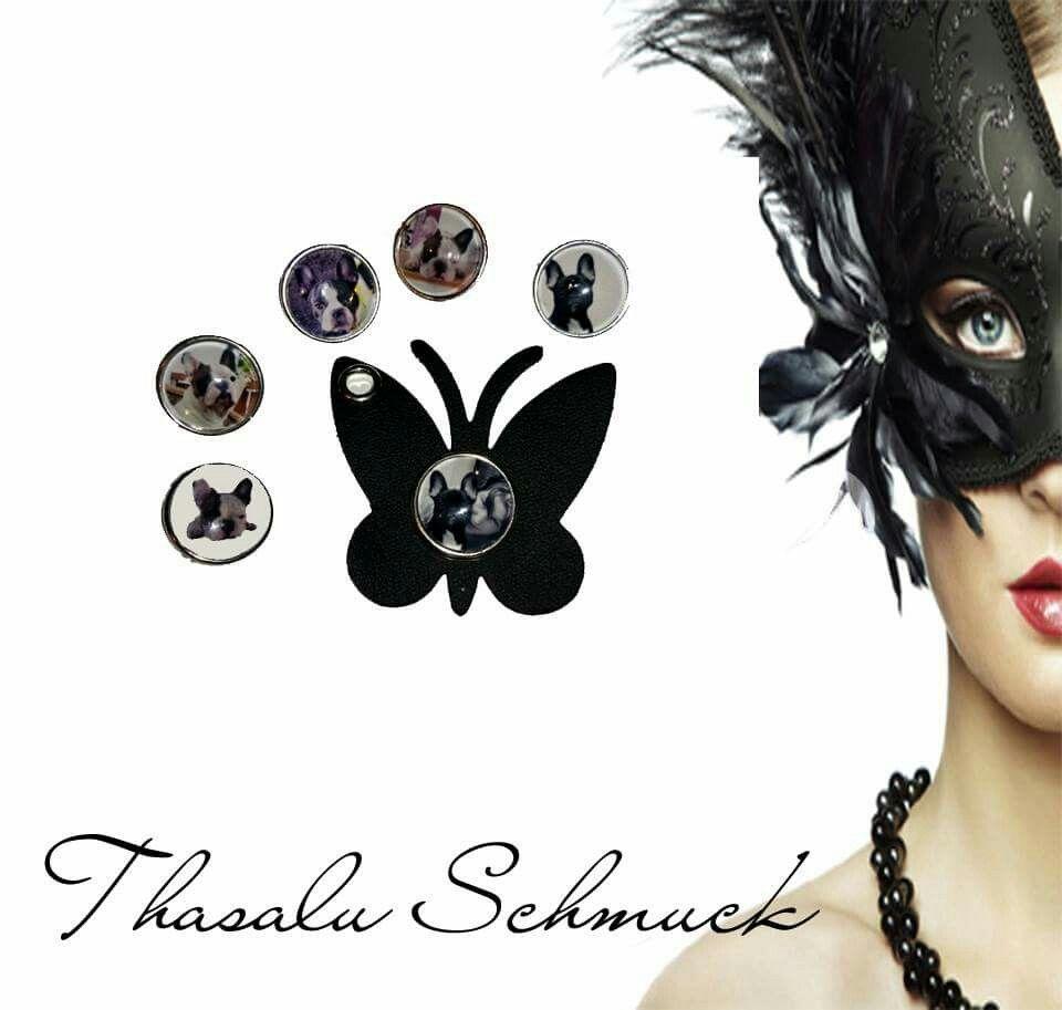 FotoChunk und Schmetterlingsschlüsselanhänger mit FotoChunk zu finden bei Thasalu Schmuck bei Facebook