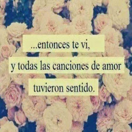 Las Canciones De Amor Frases Romanticas Frases Amor Cortas Poema Cortos De Amor Frases De Canciones