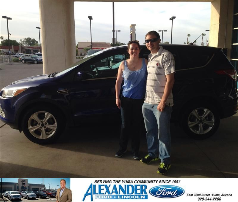 Congratulations To Nicole Jolbert On Your Ford Escape Purchase