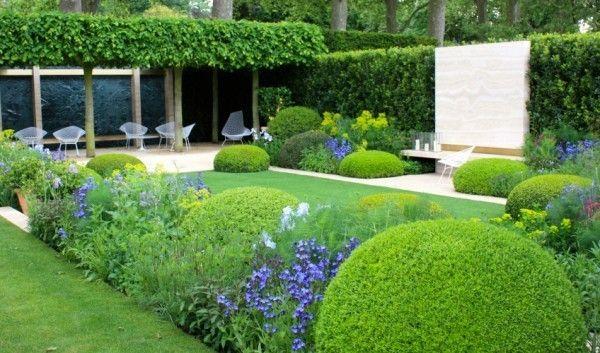 Dise o de jardines modernos by for Jardines modernos con piedras