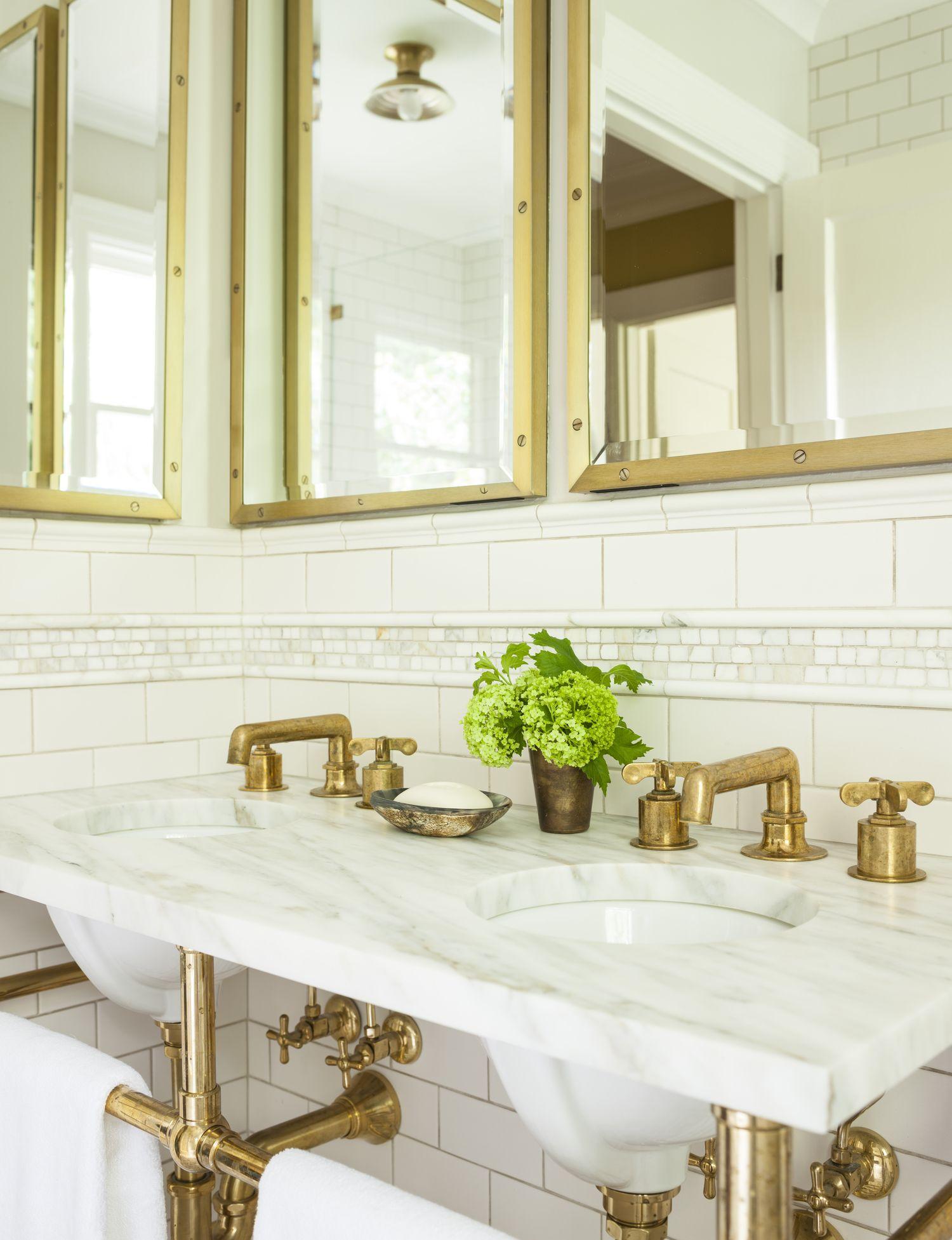 Portfolio Antique Brass Bathroom Faucet Gorgeous Bathroom Brass Bathroom Faucets