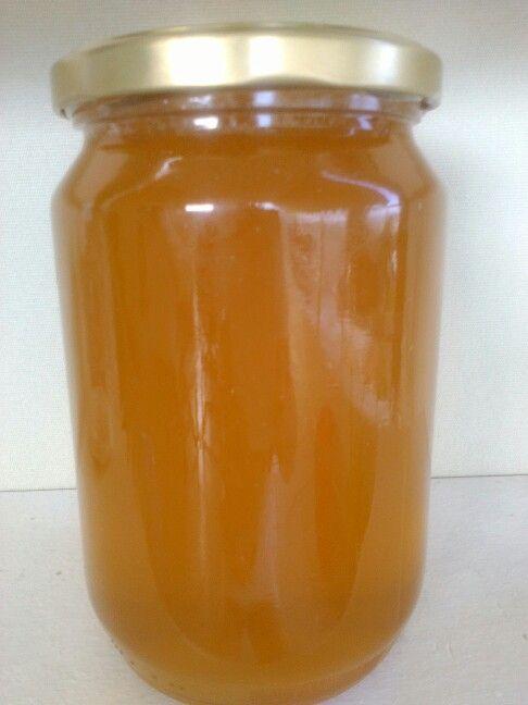 Organic flower honey