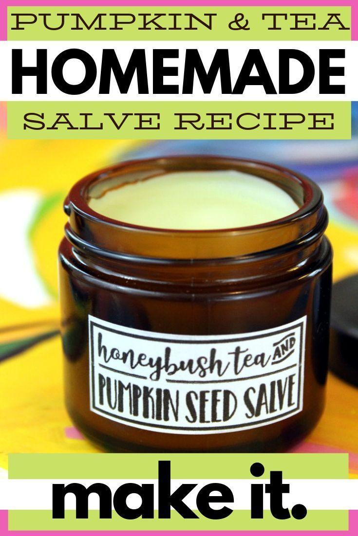 Homemade Salve Recipe for Eczema with Honeybush Tea