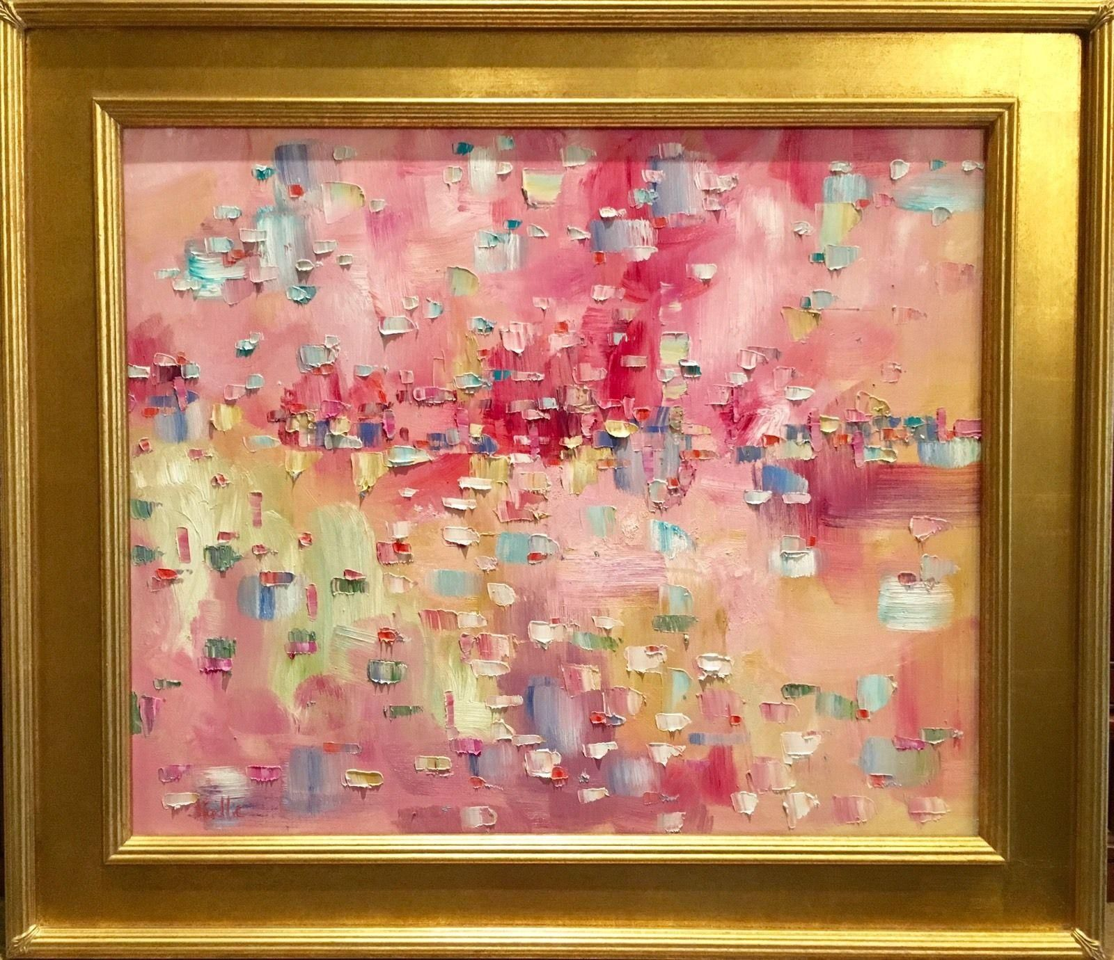 Abstract Impasto of Color\', Original Oil Painting by artist Sarah ...