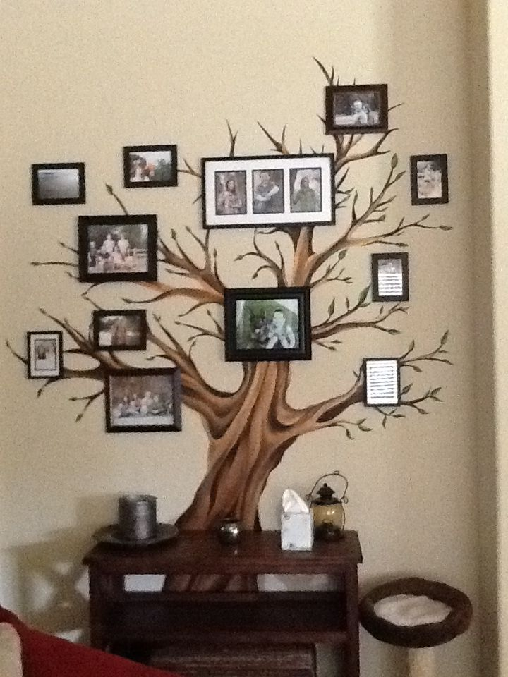 Family tree family tree mural diy projects to try