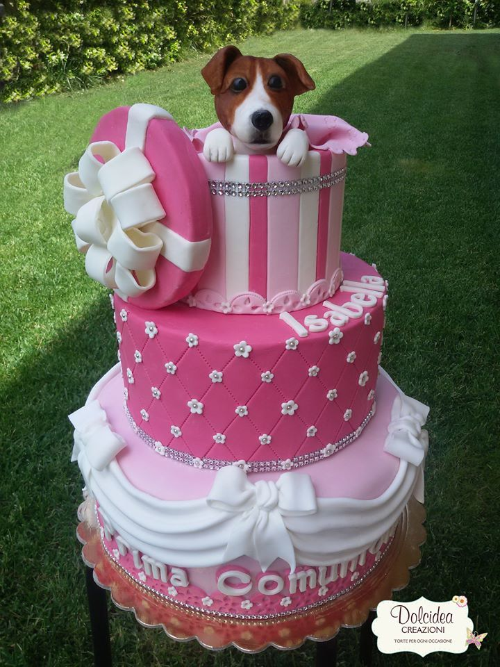 Dog Safe Cake Decorations : Torta cane Jack Russell - Jack Russel dog cake Torte ...