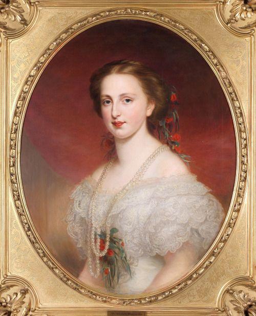 ab. 1856-1858 Franz Schrotzberg - Margarete Karoline, Princess of Saxony, Archduchess of Austria