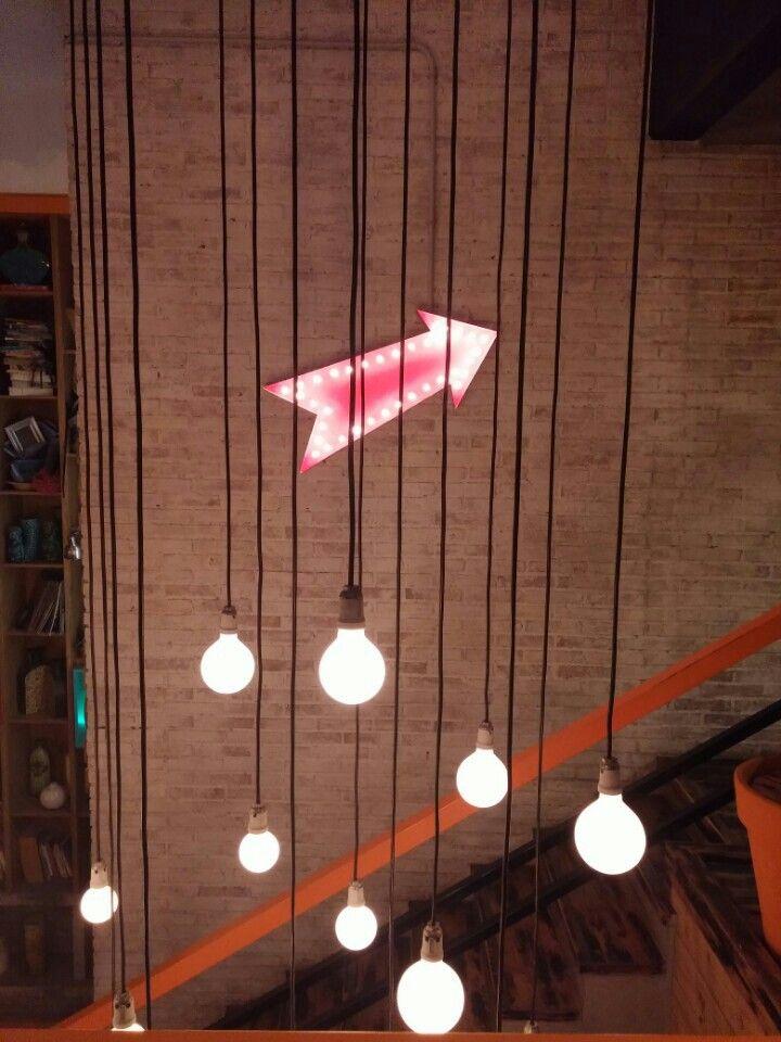 Flecha con bulbos