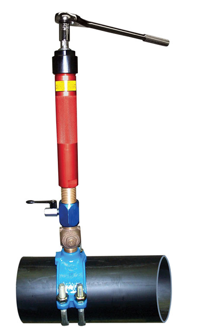 View The Wheeler Rex Manual Hot Tapping Machine This Hot Tap Machine Will Tap 3 4 To 2 When You Purch Heating And Plumbing Plumbing Emergency Plumbing Tools