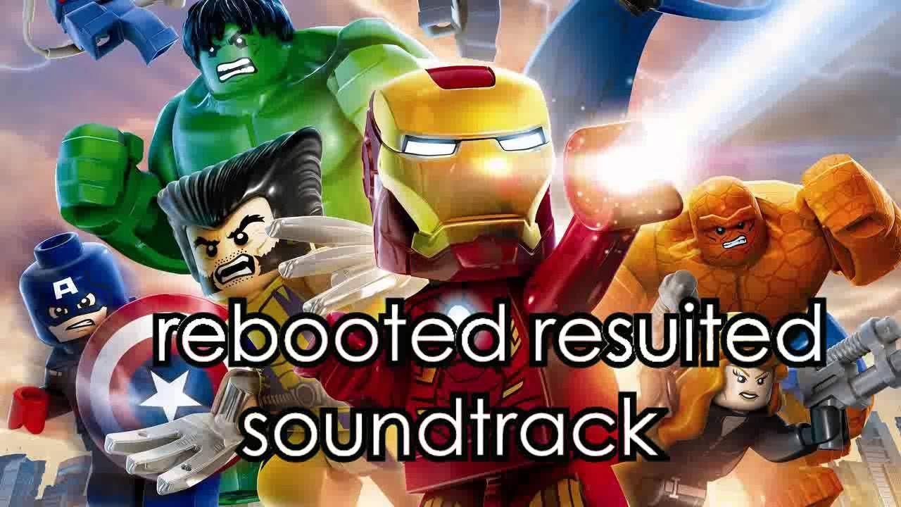 Lego Marvel Super Heroes Soundtrack Resuited Rebooted Lego Marvel Lego Marvel Super Heroes Hero Poster