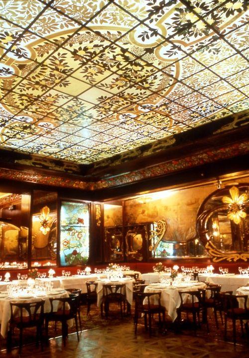 art nouveau restaurant