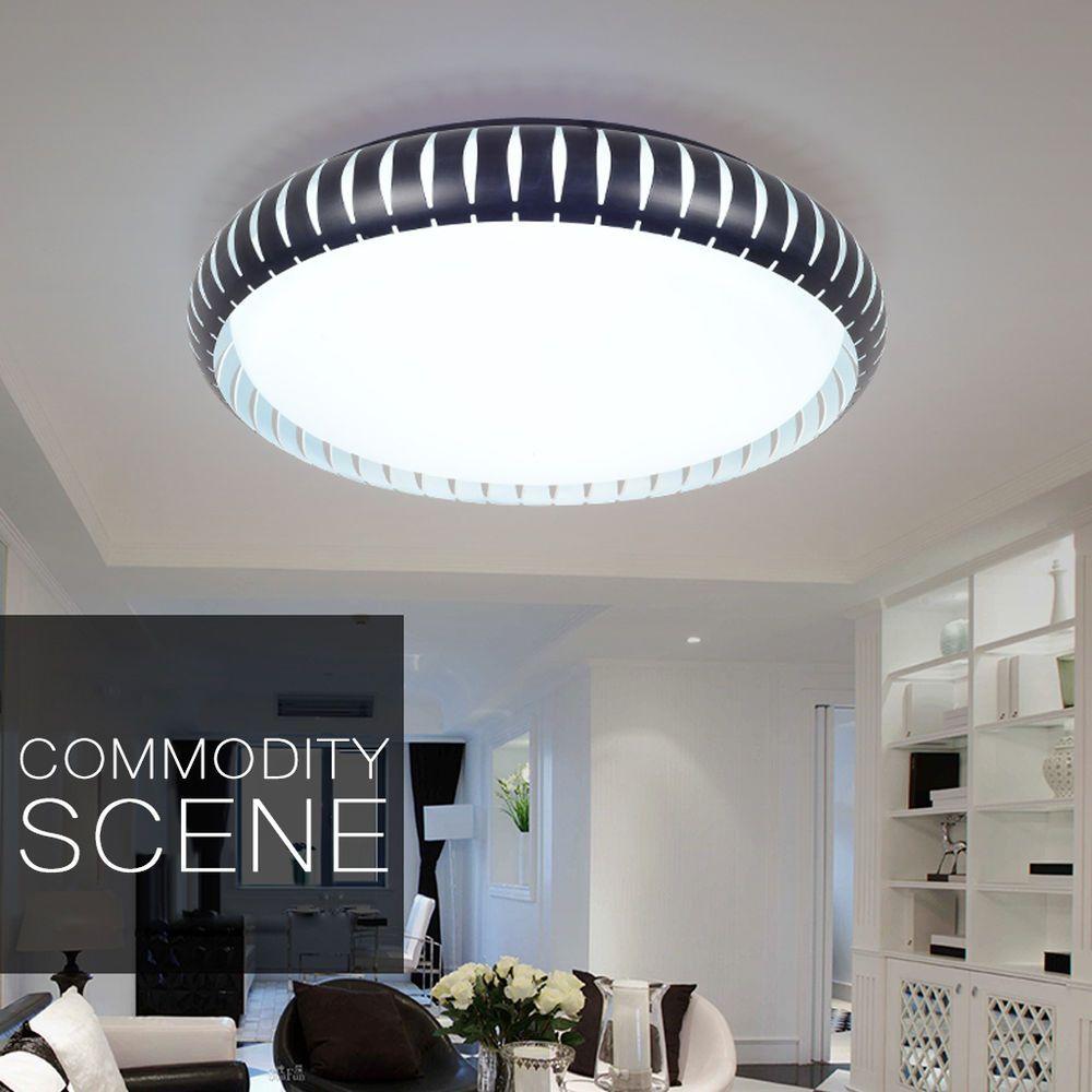 30w Led Deckenleuchte Flur Decken Leuchte Deckenlampe Küchen Lampe Design 46cm Deckenlampe Deckenlampe Küche Deckenlampe Wohnzimmer