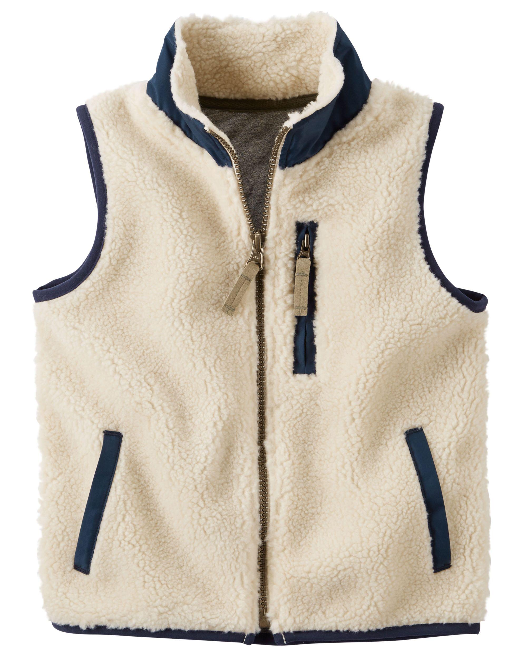 8e5685f632b5 Baby Boy Sherpa Vest