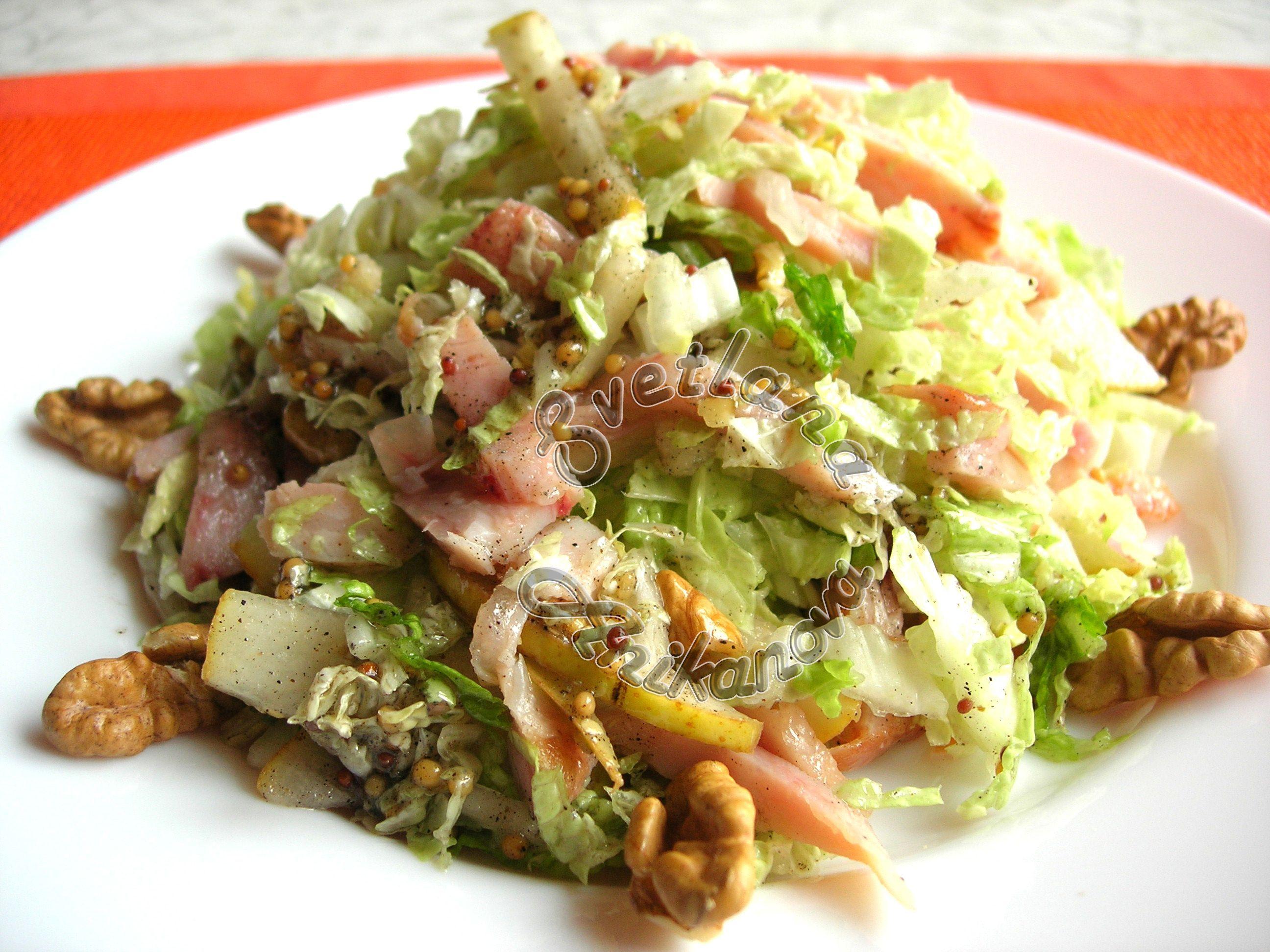 """Новогодний салат """"Красотка"""" без майонеза - пошаговый ..."""