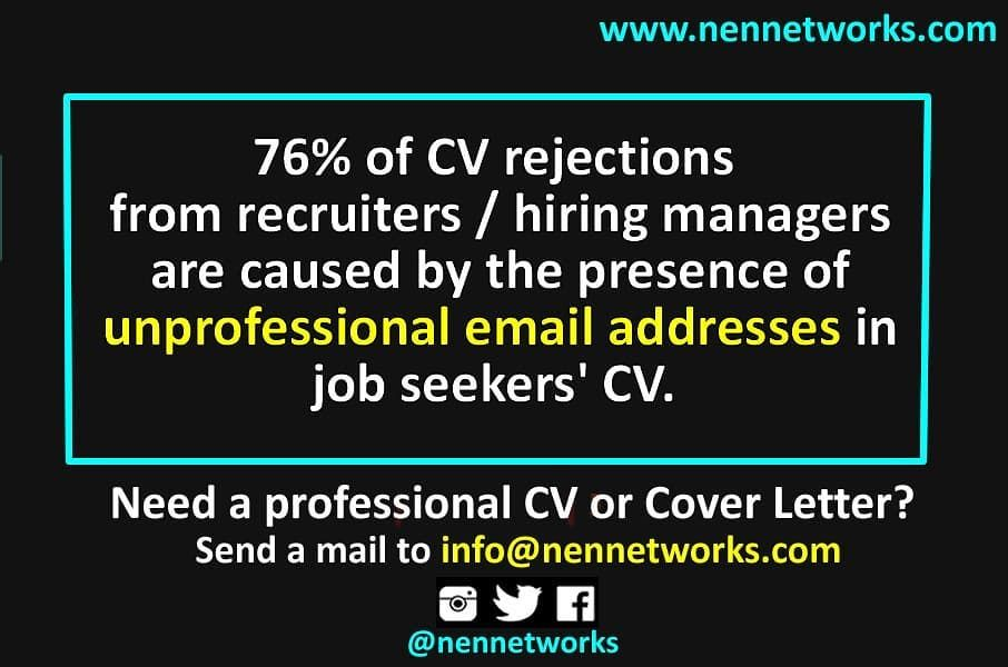 One reason why your CV is being rejected. . . Stop adding