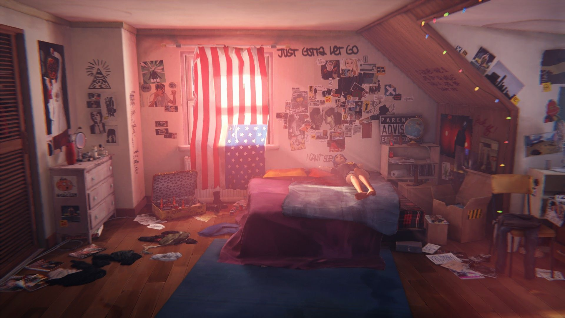 Punk Bedroom Chloes Room The Ojays Garage And Chloe
