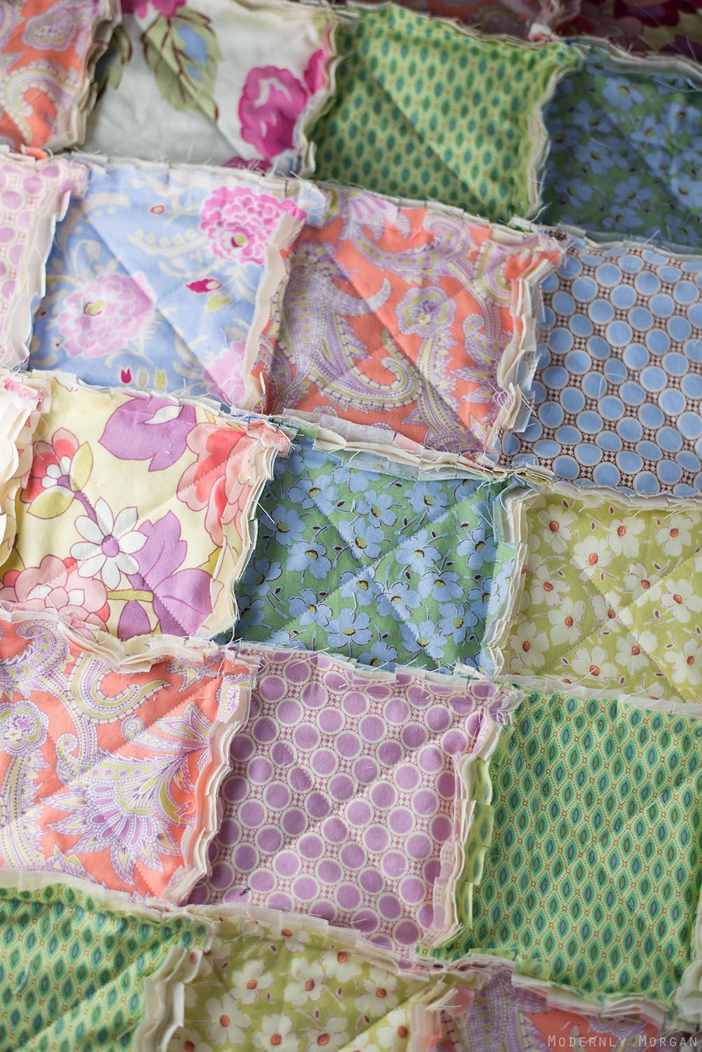 Rustic Rag Quilt Tutorial Modernly Morgan Rag Quilt Tutorial Rag Quilt Patterns Baby Rag Quilts