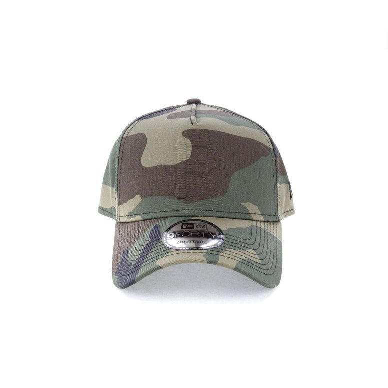 New Era Pittsburgh Pirates Emboss 940 A-Frame Snapback Camo ... b93810a5587