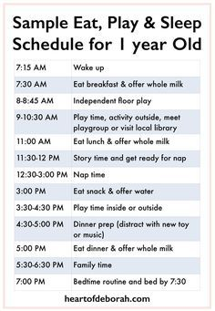 Sample menu for one year old also toddler schedule  day in life of an unplugged rh pinterest
