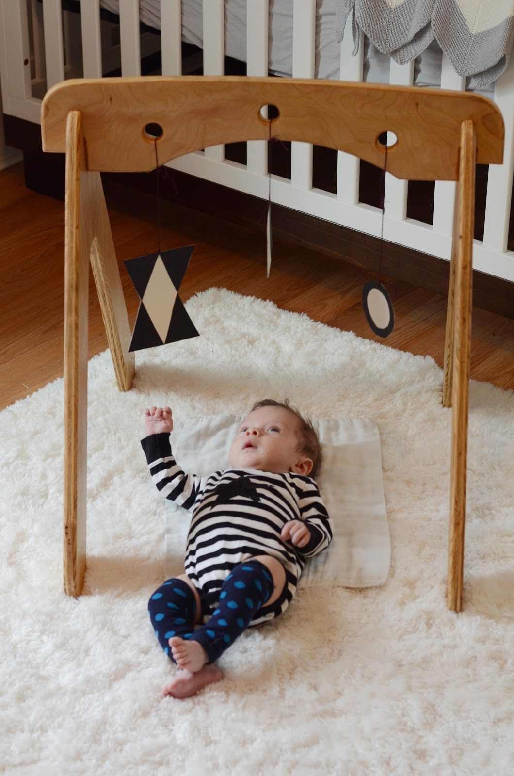 Wooden Activity Gym For Babies For The Kiddos Baby
