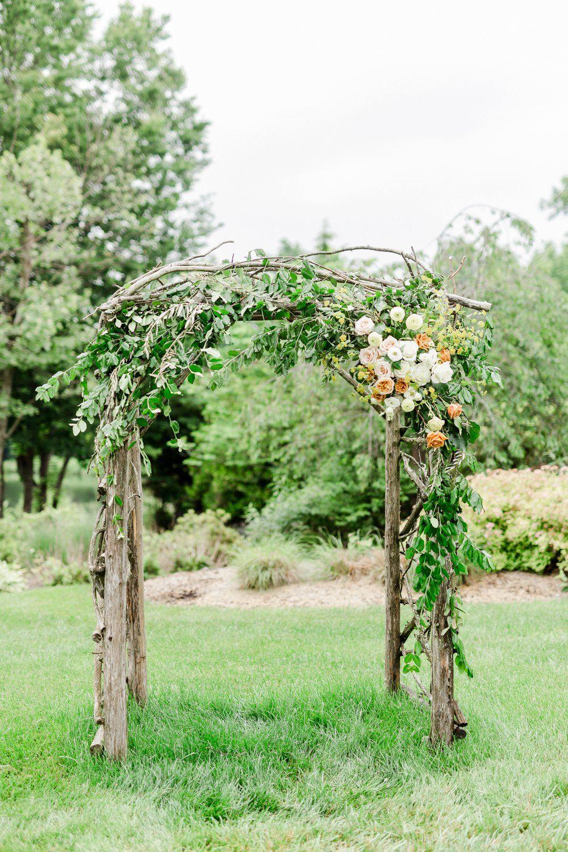 Rustic Fairytale Wedding Arch A Whimsical Spring Wedding Inspiration Rusticfairytaleweddi In 2021 Wedding Archway Fairytale Wedding Inspiration Forest Theme Wedding