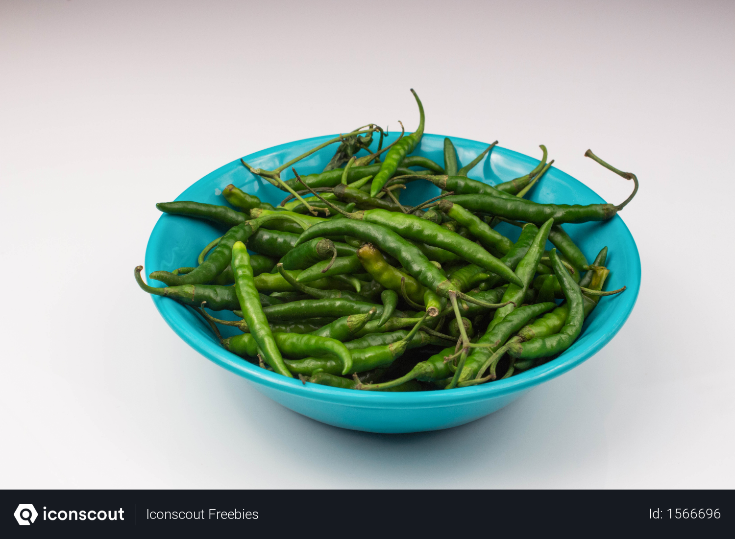 Free Green Chili Paper Vegetable In Light Blue Bowl Isolated On White Background Photo Download In Png Jpg Format Light Blue Bowls Blue Bowl Green Chilies