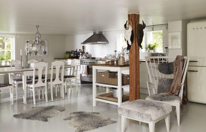 17 bästa bilder om SkärgÃ¥rdsinredning pÃ¥ Pinterest | Sjöar, Däck ... : köksbord betong : Kök