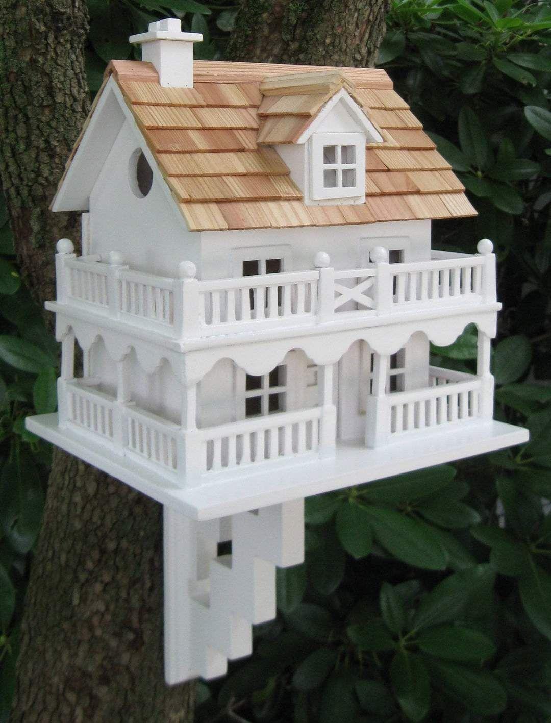 Novelty Cottage Birdhouse Happy Gardens in 2020 Bird