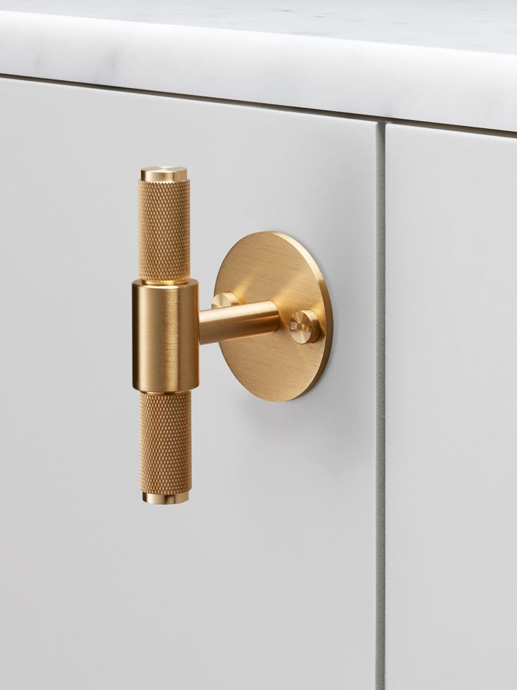 T-BAR / PLATE / BRASS Buster + Punch | uchwyty | Pinterest ...