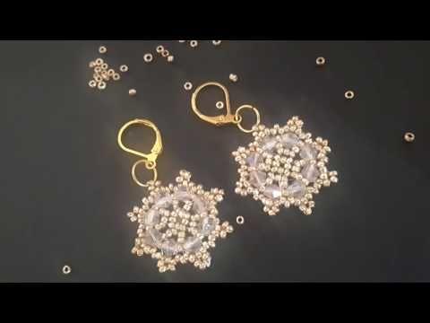 Photo of Beaded earrings, beaded earrings tutorial, how to make beaded earrings