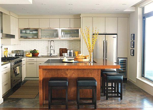 10 stilvolle Edelstahl-Küchen-Designs ZIMMER IDEEN Pinterest - küchen aus edelstahl