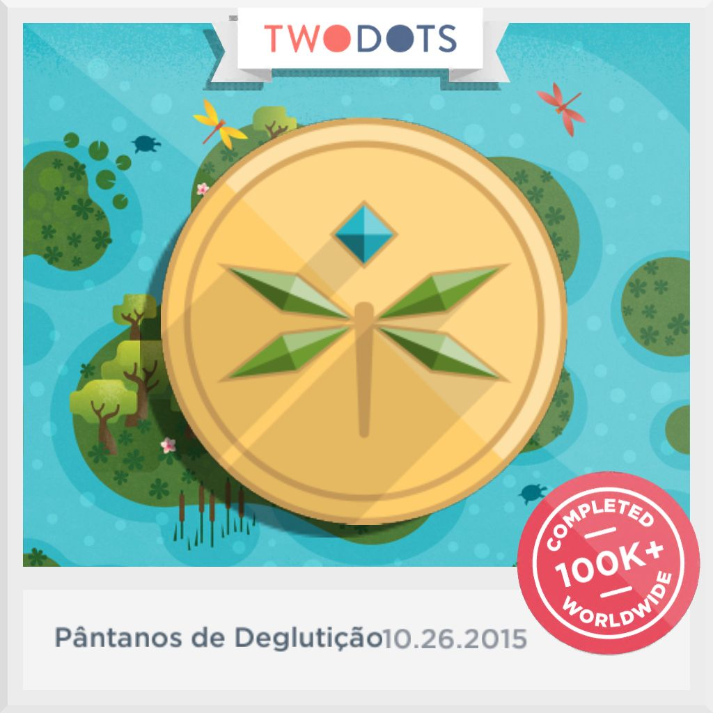 I found the Jade do Charco in Pântanos de Deglutição! Think you can beat my score? #PntanosdeDeglutio #TwoDots