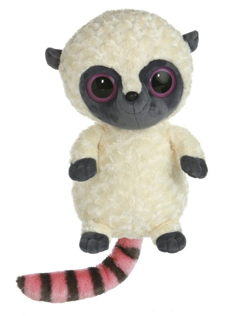 16 Aurora Plush Yoo Hoo Friends Pink Tailed Lemur Stuffed Animal