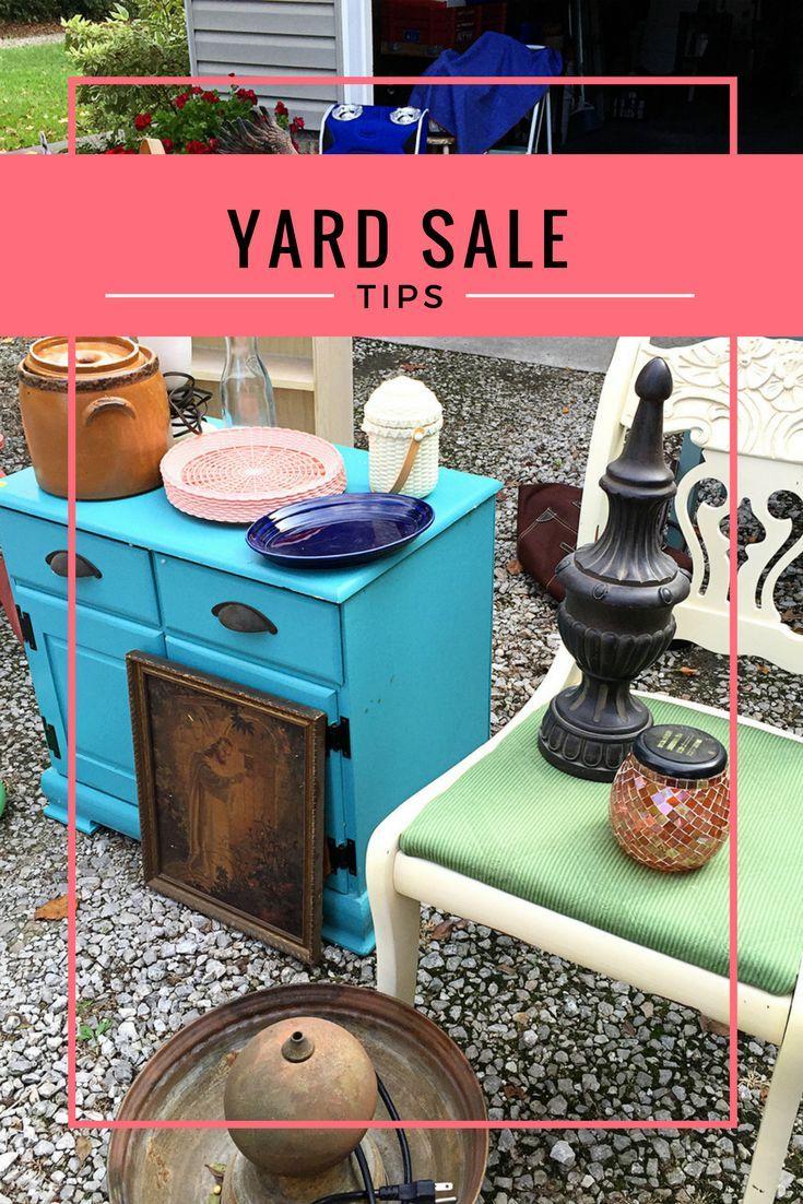 Top 40 Ultimate Yard Sale Tips Yard Sale Organization Yard Sale