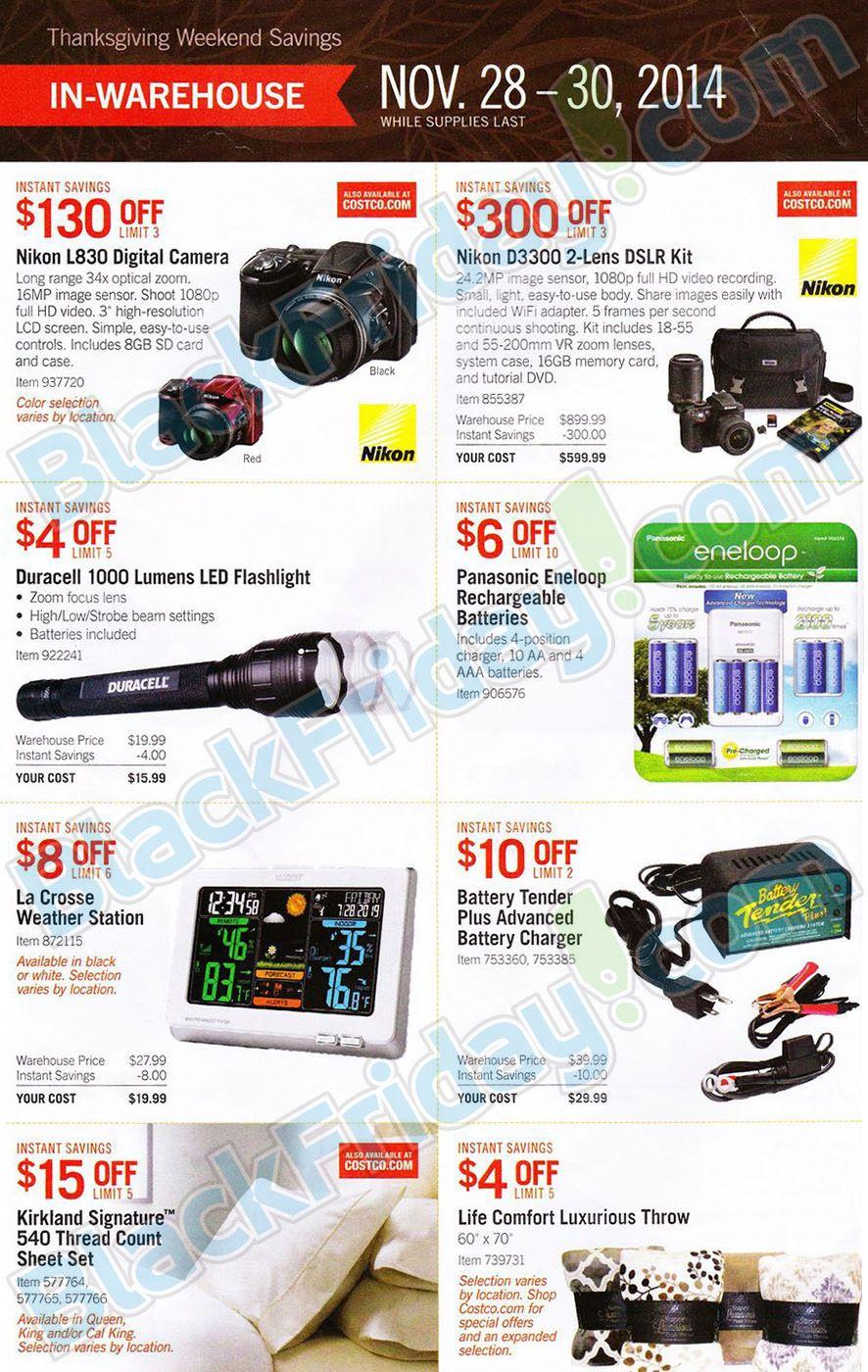 Costco Black Friday 2014 Ad Page 3 new Nikon??? | * * * Christmas ...