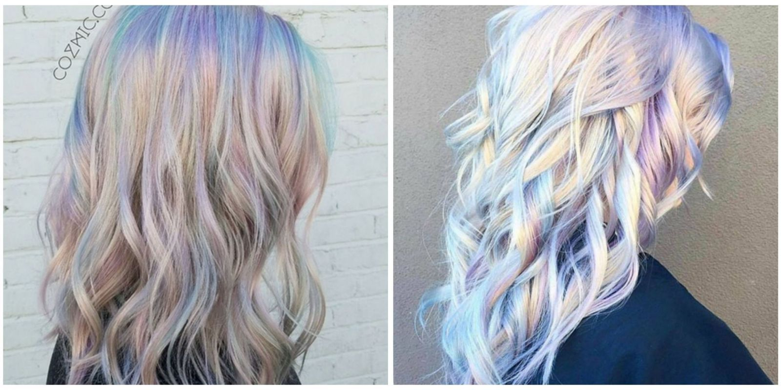 Holographic hair is the latest trend to take over instagram