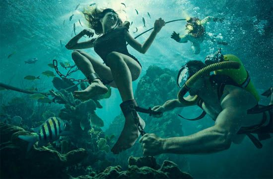 Dave Hill Conceptual Photography #underwater