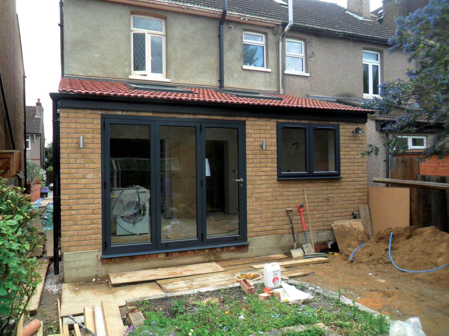 rear extension bifold doors and window - Google Search  House