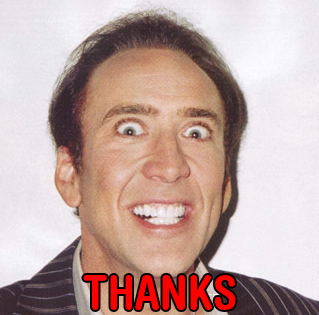 Spooky! Scary! — I love your blog so much Nicholas cage