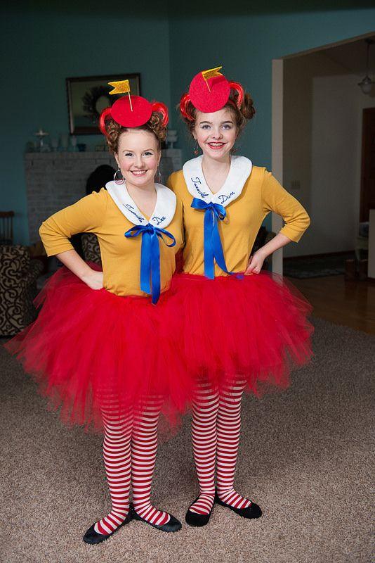 KIDS TWEEDLE DUM DEE COSTUME ALICE IN WONDERLAND FANCY DRESS OUTFIT BOOK DAY