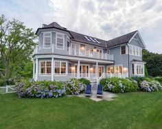Traditional Old Greenwich Beach House