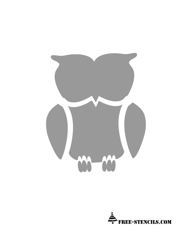 image about Printable Owl Stencils named Pin as a result of Amanda Bojan upon Need Checklist Owl stencil, Free of charge