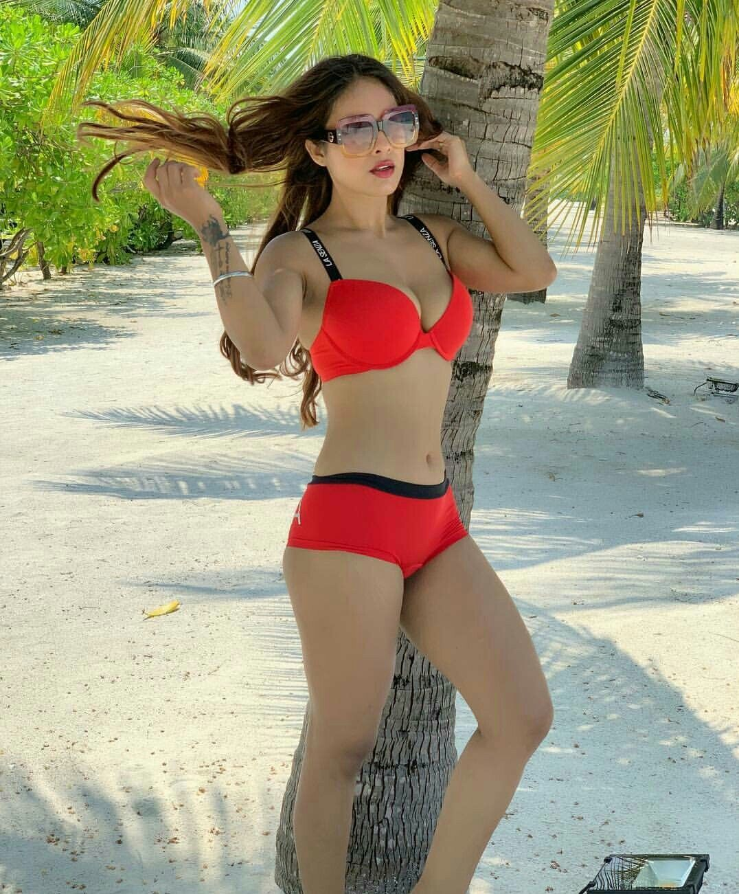 Nushrat bharucha sets temperature soaring with her hot and sexy bikini pictures