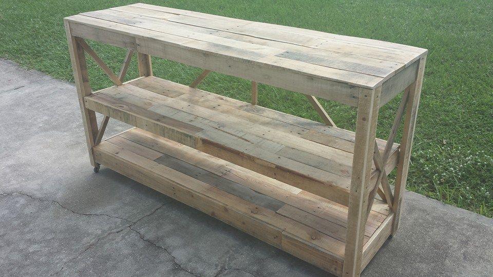 Pallet Sideboard Wooden Pallet Crafts Homemade Home Decor Home