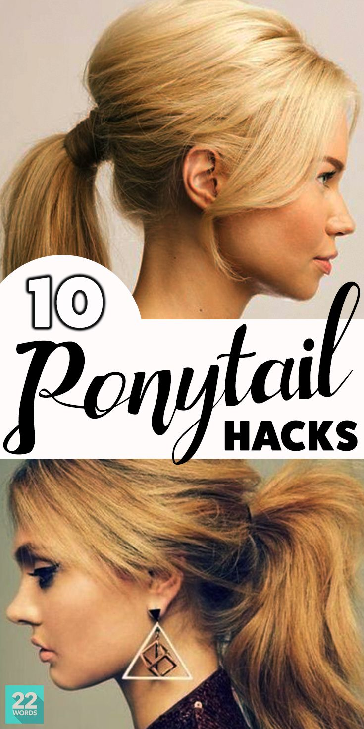 Ten ponytail hacks that will completely change the way you look