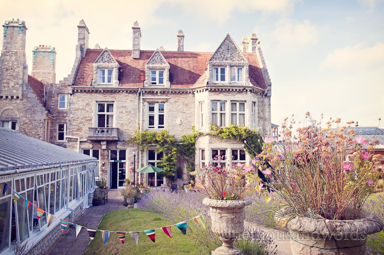 Purbeck House Hotel Wedding Venue In Dorset Photography By One