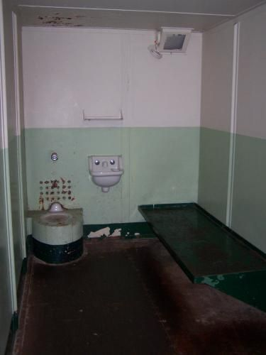 The Hole Alcatraz Solitary After Completing The Punishment In