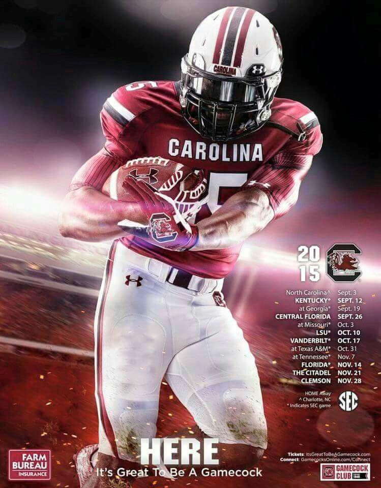 Pin By Diana Browder Owens On Carolina Gamecocks Football Poster South Carolina Football Football