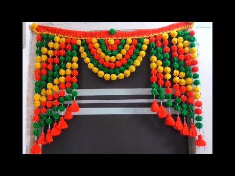 Diy How To Make Toran For Door Hangings At Home