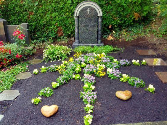 Friedhofsgrtnerei Durlach DurlachAue und Grtzingen erste Grabanlage  grabgestaltung